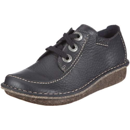 Clarks Funny Dream, Women's Derby, Blue (Navy Leather), 6.5 UK (40 EU)