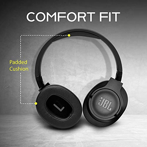 JBL Tune 750BTNC Over-Ear Wireless Active Noise-Cancelling Headphones with 15 Hours Playtime (Black) Image 8