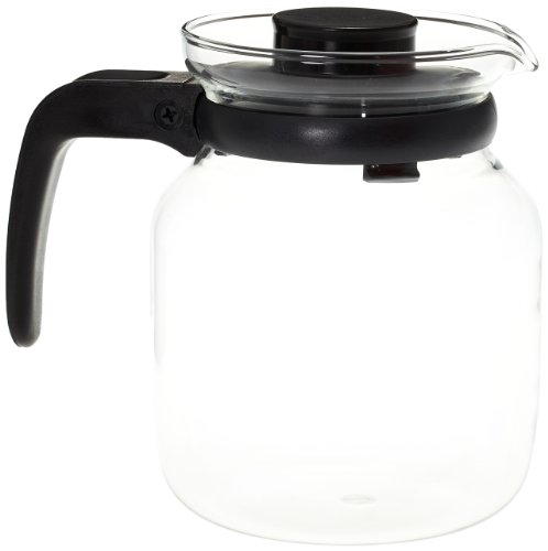 Borosil Carafe with Strainer in Lid, 1.2 Litres  available at amazon for Rs.635