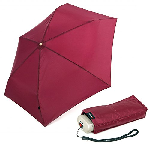 knirps-manual-travel-foldable-umbrella-18-cm-burgundy