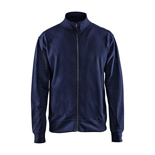 Blakläder 337111588900X XXL Sweatshirt Full Zip Gr. XXXL in navy blau 1 (Xxl Zip-sweatshirts)