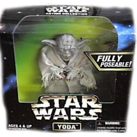 Star Wars Action Collection 6' Yoda Figure By Kenner (japan import)