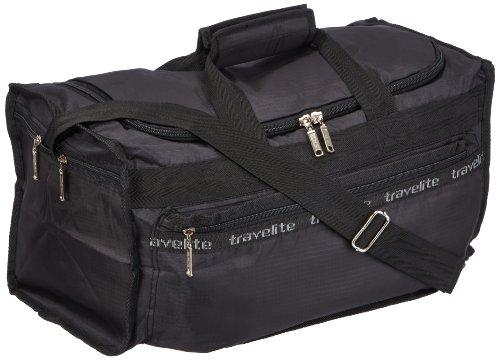Travelite Falt-Reisetasche MiniMax S, 000563-01 , schwarz, 46x25x23 cm, 24 Liter (Falt-shopper)
