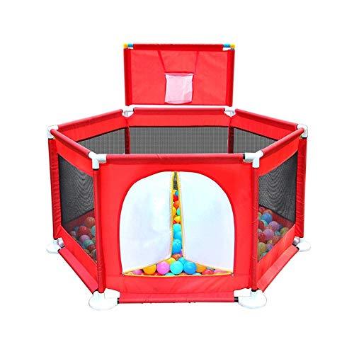 FJIE Kleinkind Laufstall, Baby Playard, Baby Play Spielzeug Krippe Laufstall, Ideal Für Kleinkinder Haustiere Indoor Outdoor Spielen -