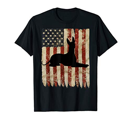 cdb55cc1df642 Xolo USA Flag Patriotic Aztec Xoloitzcuintli Dog Owner T-Shirt