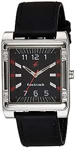 Fastrack Analog Black Dial Men's Watch - NE3040SL02