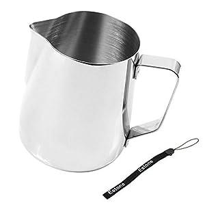Estone Kitchen Craft Barista Espresso Coffee Frothing Tea Milk Latte Jug Thermometer (350ml Jug)