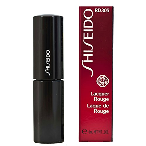 Shiseido - Rossetto Lacquer Rouge, n° RD305 Nymph, 1 pz. (1 x 6 ml)