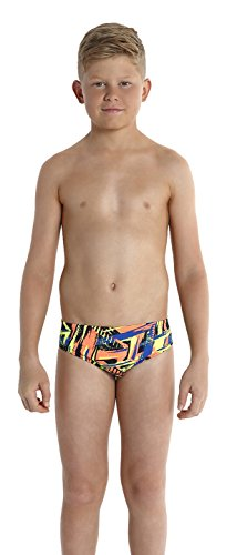Speedo Jungen Badeanzug Carnival Camo Badehose mit Allover-Print 65 cm, Carnival Camo Navy/Siren, 164, 8-04285A72532 (Kinder Uv-camo)