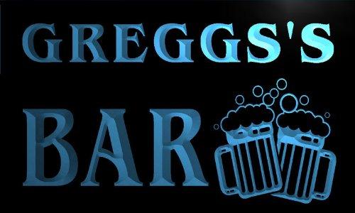 w018039-b-greggss-nom-accueil-bar-pub-beer-mugs-cheers-neon-sign-biere-enseigne-lumineuse