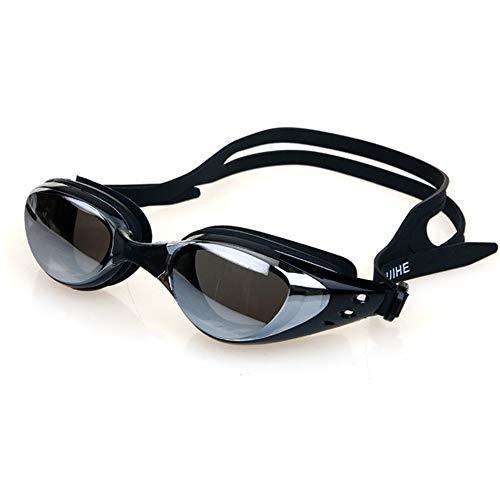 ZhaoZC Schwimmbrille Anti-Fog und Anti-Uv Belt Free Schutzhülle für Männer und Frauen Jugend wasserdicht Sonnenschutz,A (Sonnenbrillen Nike Jugend)