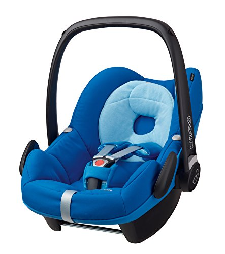 Maxi-Cosi Pebble, Babyschale Gruppe 0+ (0-13 kg), watercolour blue, ohne Isofix-Station