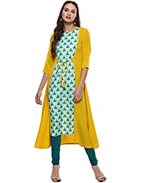 a8576e9d8 Yellows Women s Kurtas   Kurtis  Buy Yellows Women s Kurtas   Kurtis ...