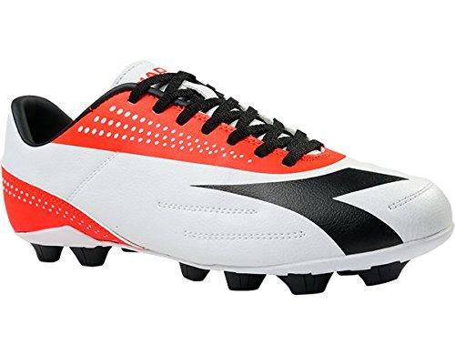 Diadora , Chaussures de foot pour homme - Bianca/Arancio