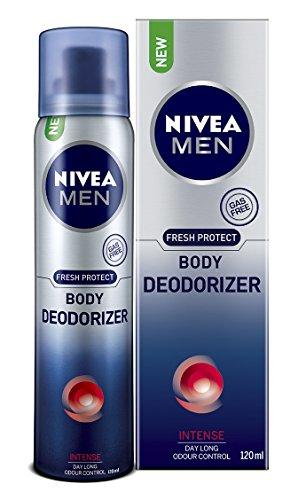 Nivea Men Body Deodorizer, Intense, 120ml