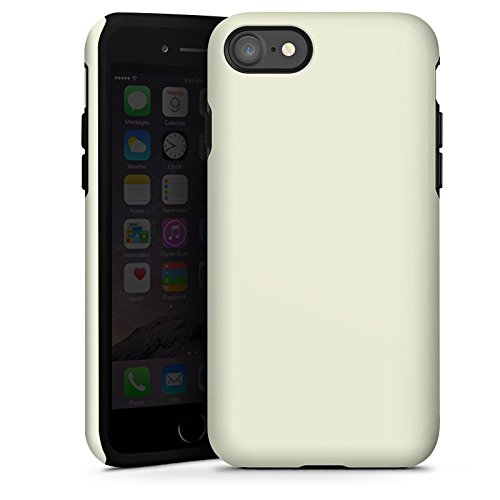 Apple iPhone X Silikon Hülle Case Schutzhülle Pastellgrün Grün Green Tough Case glänzend