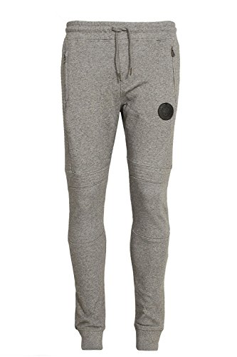 883 POLICE Lawrence Cuffed Jogger Sweatpants | Marl Grey Medium 32 Waist