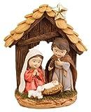 The Healing Corner La guarigione angolo di Natale per bambini presepe Sacra Famiglia bambini Natale presepe 4cifre bambini speciali come regalo di Natale tradizionale Xmas Natività