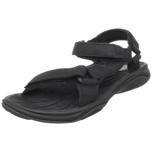 Teva Pretty Rugged Leather 3 9093, Damen Sandalen, Schwarz (black 513), EU 36 (UK 3.5) (US 5)