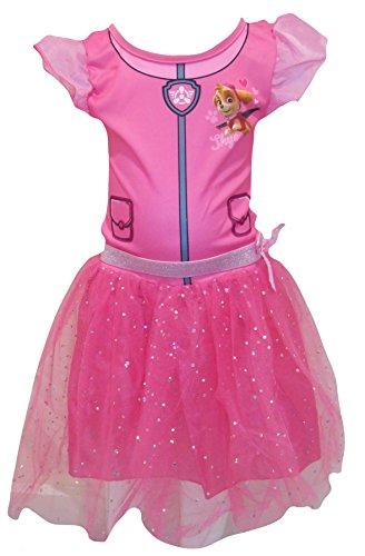 Paw Patrol Sky Kostüm - Paw Patrol Tutu Kleid und Stirnband