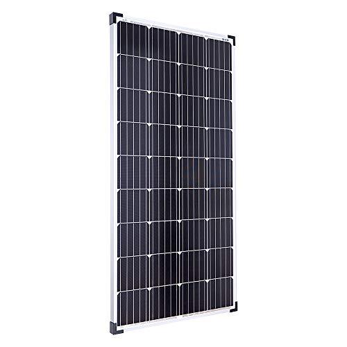 Offgridtec Solarmodul Zellen Monokristallin Solarpanel / zelle, 12 V, 130 W, 001250