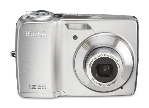 Kodak EasyShare C182 Digitalkamera (12,4 Megapixel, 3-fach opt. Zoom, 7,6 cm (3 Zoll) Display) silber
