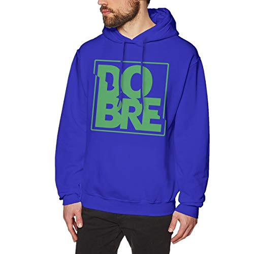 James Home Herren Dobre Brothers (2) Pullover Hoodie Langarm Sweatshirt Hoodies für Herren Jungen Kleidung Outdoor Mantel Tops Blau M -