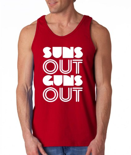 los-hombres-de-verano-gimnasio-chaleco-deportivo-sin-mangas-de-sol-out-guns-out-rojo-rosso-medium