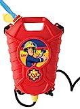 Simba 109252293 Feuerwehrmann Sam Feuerwehr Tankrucksack, Mehrfarbig, One Size Test