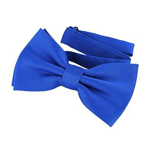 DonDon Bow Tie Blue pre-tied Bow – adjustable