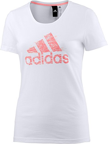 adidas Performance Damen T-Shirt weiß S (Adidas Shirt Weiß)