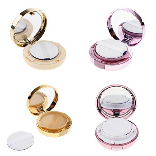 Homyl 4 X Vide Luxe Récipient de Coussin d'Air Vide Boîte de Pouf de Poudre Fondation Pour DIY BB/CC Crème