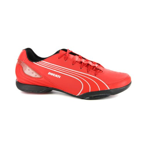 mens-puma-ducati-motorazzo-street-racer-red-leather-trainers-uk-10