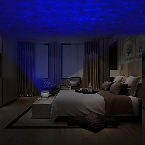 Liqoo Lampada Proiettore Colorati Aurora Onde dell\'Oceano Musica ...