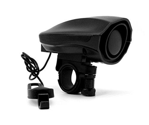 Lautsprecher-installation (Super Laut Fahrradhorn Fahrradhupe Fahrradklingel Sirene Fahrrad Glocke elektronischen Alarmglocke Horn Lautsprecher 3 Töne 110dB)