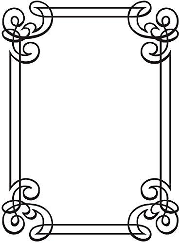 Darice 1218-31  Prägeschablone, Verzierung, Plastik, transparent, 10,8 x 14,6 x 0,4 cm Sizzix-stanzformen Für Die Big Shot Pro