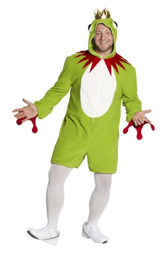 (Rubie's Herren Kostüm Frosch Overall Froschkönig zu Karneval Fasching Gr.XL)