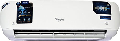 Whirlpool 1 Ton 3 Star Split AC (3D Cool HD, Snow White)