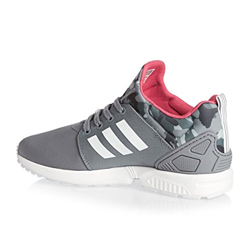 Adidas Zx Flux Nps Updt W, Gris / blanc / rose Grey/White/Pink