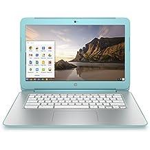 """HP Chromebook 14-x012nf PC portable 14"""" Turquoise (Nvidia Tegra, 4 Go de RAM, SSD 16 Go, Chrome OS)"""