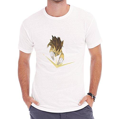 Pokemon Sandslash Sand Ground Slash Herren T-Shirt Weiß