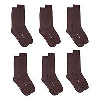 Mark-On Brown Socks For Men