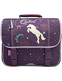 Cartable Cybel Violet 38 cm