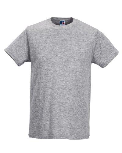 Russell Men'T-Shirt s Slim Grau - Light Oxford