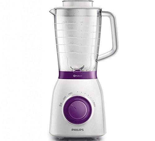 Philips-Viva-Collection-HR216600-Batidora-de-vaso-2L-600W-Violeta-Color-blanco-Licuadora-Batidora-de-vaso-2-L-Violeta-Color-blanco-1-m-De-plstico-Acero-inoxidable