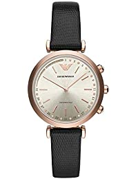 6516ef2ccd41 Emporio Armani Womens Analogue Quartz Watch with Leather Strap ART3027