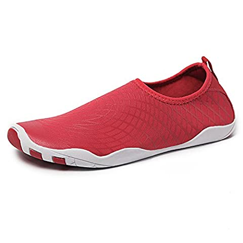 Water Shoes Mens Womens Quick Dry Sports Aqua Shoes Unisex Swim Shoes with 14 Drainage Holes for