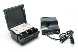 Métronic 440150 Kit amplificateur d'extérieur pour antennes séparées UHF et VHF