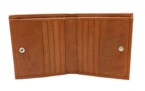 3ab3b959ad5b RFID BLOCKING Protection Soft Genuine Leather Designer Mens Compact Slim  Wallet Card Holder Zip Coin Pocket Gift Boxed