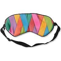 Colorful Stripe 99% Eyeshade Blinders Sleeping Eye Patch Eye Mask Blindfold For Travel Insomnia Meditation preisvergleich bei billige-tabletten.eu